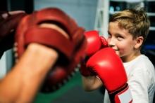 Boxe Enfant à l'école ADAM Bordeaux